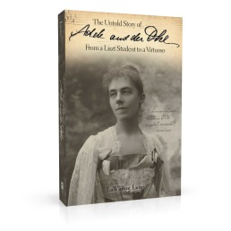 Book cover design for The Untold Story of Adele aus der Ohe