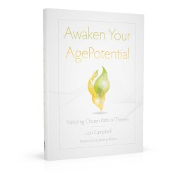 Book cover design for Awake Your AgePotential
