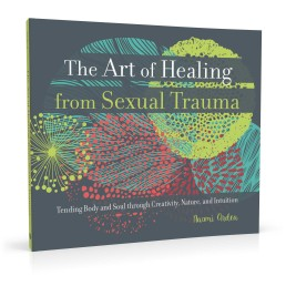 Book cover design for The Art of Healing from Sexual Trauma