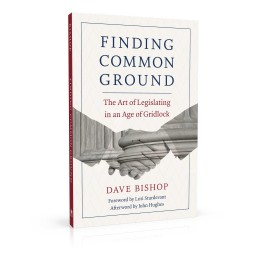 Book cover design for Finding Common Ground