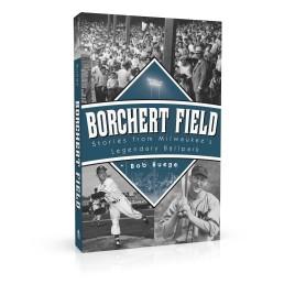 Book cover design for Borchert Field