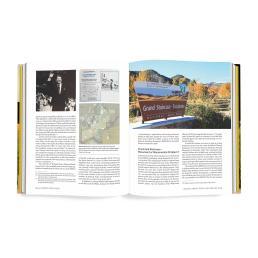 Interior book design for Lighting the Plateau