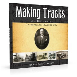 Book cover design for Making Tracks