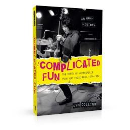 Book cover design for Complicated Fun