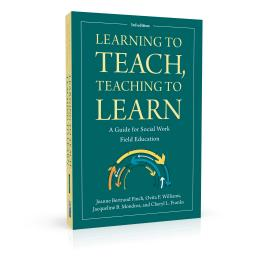 Book cover design for Learning to Teach, Teaching to Learn