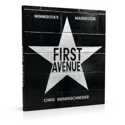 Book cover design for First Avenue