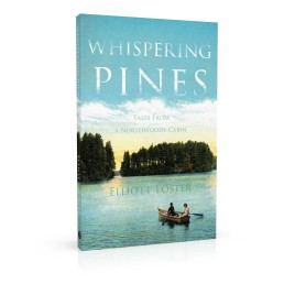 Book cover design for Whispering Pines