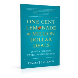 Book cover design for One Cent Lemonade to Million Dollar Deals