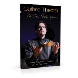 Book cover design for Guthrie Theater