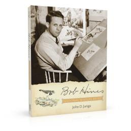 Book cover design for Bob Hines