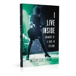 Book cover design for I Live Inside