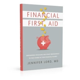 Book cover design for Financial First Aid