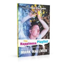 Book cover design for The Happiness Playlist