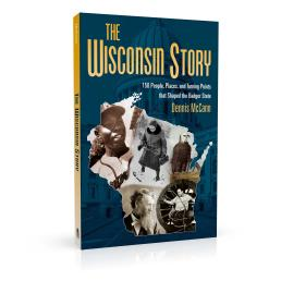 Book cover design for The Wisconsin Story