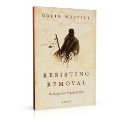 Book cover design for Resisting Removal