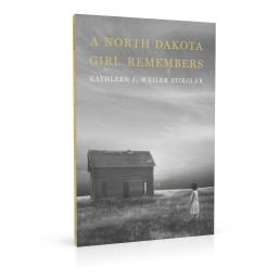 Book cover design for A North Dakota Girl Remembers