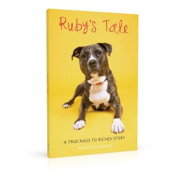 Book cover design for Ruby's Tale