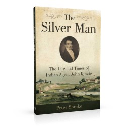 Book cover design for The Silver Man