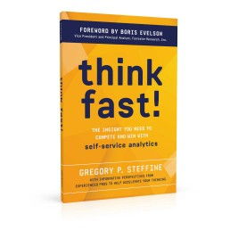 Book cover design for Think Fast