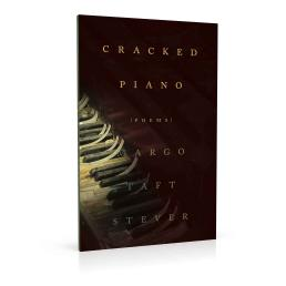 Book cover design for Cracked Piano