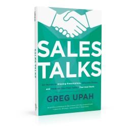 Book cover design for Sales Talks