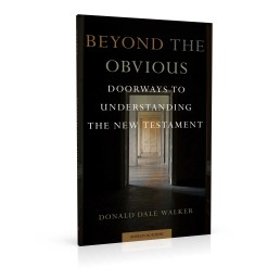 Book cover design for Beyond the Obvious