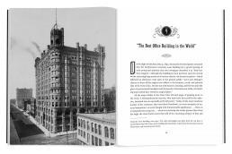 Interior book design for Metropolitan Dreams