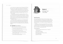 Interior book design for Home Visitor's Manual