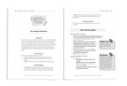 Interior book design for Class Meetings that Matter