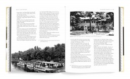 Interior book design for The Early Resorts of Minnesota