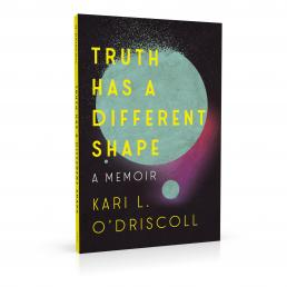 Book cover design for Truth Has a Different Shape