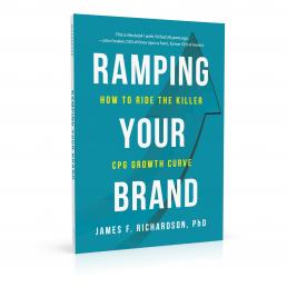 Book cover design for Ramping Your Brand