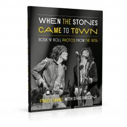 Book cover design for When the Stones Came to Town