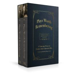 Book cover design for Plays Worth Remembering