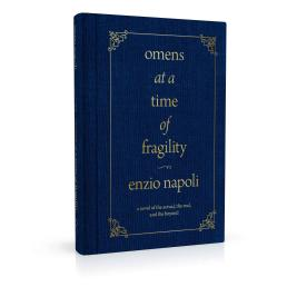 Book cover design for Omens at a Time of Fragility