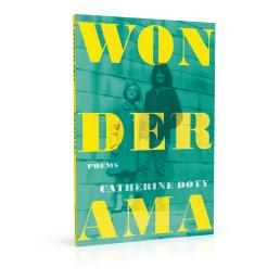 Book cover design for Wonderama by Catherine Doty