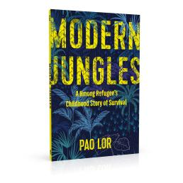 Book cover design for Modern Jungles by Pao Lor
